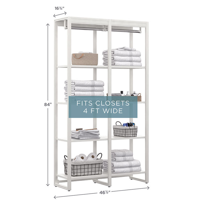 linen and pantry closet system