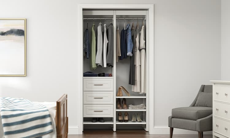 traditional closet system