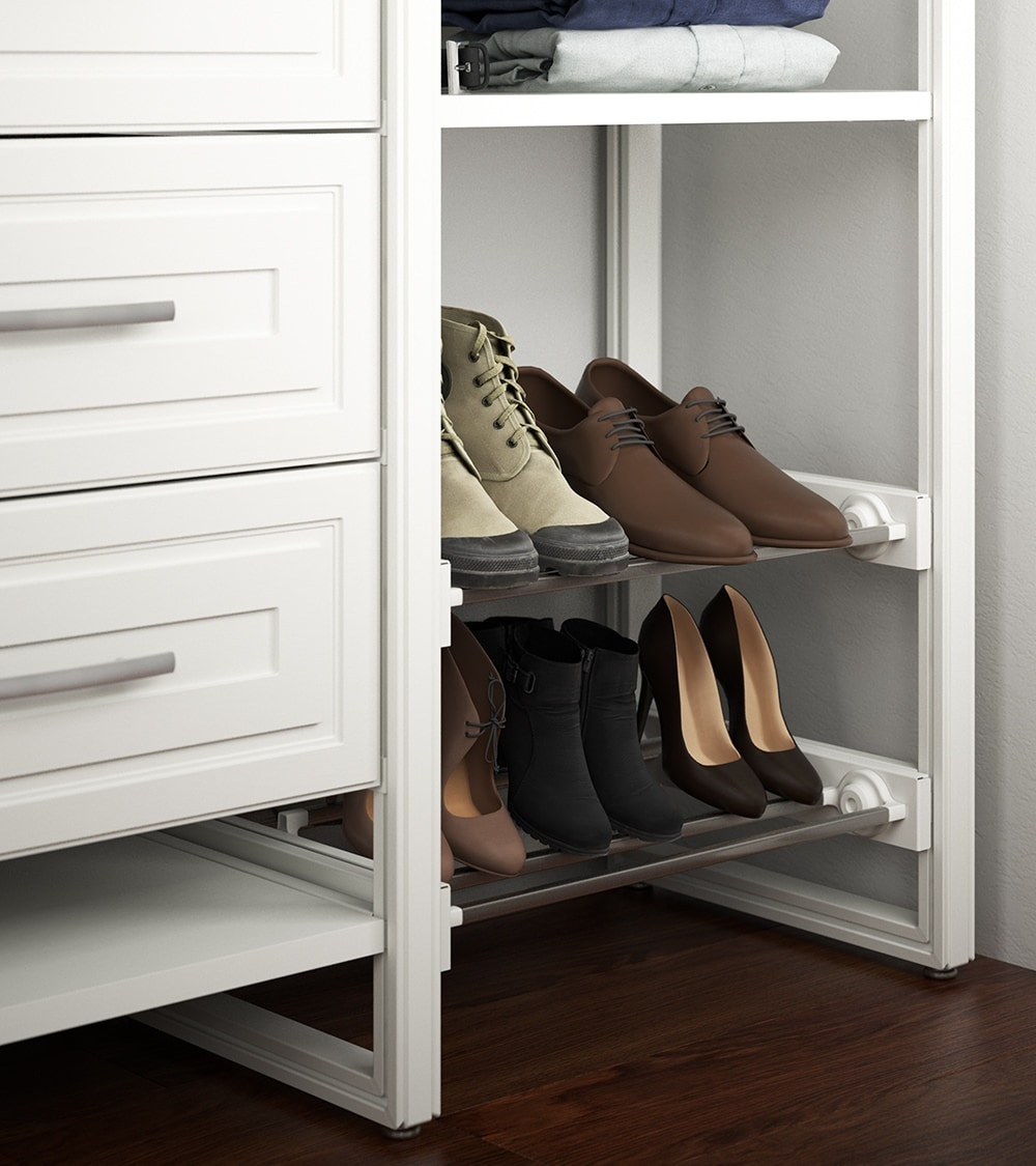 Pull Out Shoe Storage from Closets by Liberty